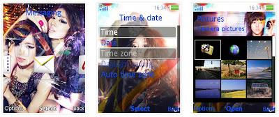 女子組合T-ara SonyEricsson手機主題Style2 for Elm/Hazel/Yari/W20﹝240x320﹞