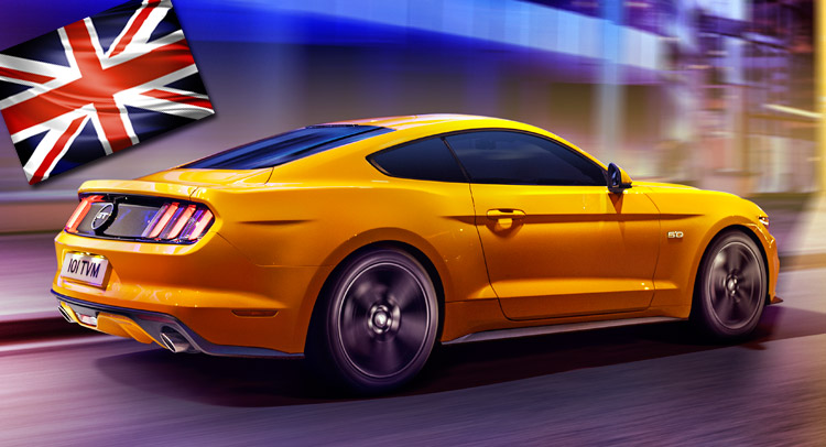 New Ford Mustang Officially on Sale in the UK, Starts from £28,995