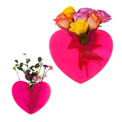 Heart Shaped Vases from Lovestar