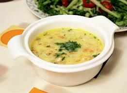 sebzeli kefal çorbası