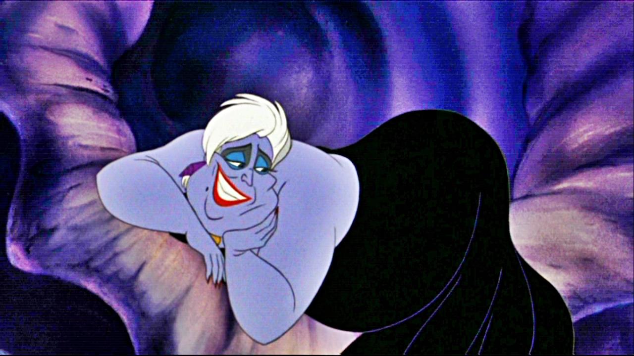 [1625] Il y a des jours où on aurait mieux fait de rester au lit. Ursula-disney-18558526-1280-720