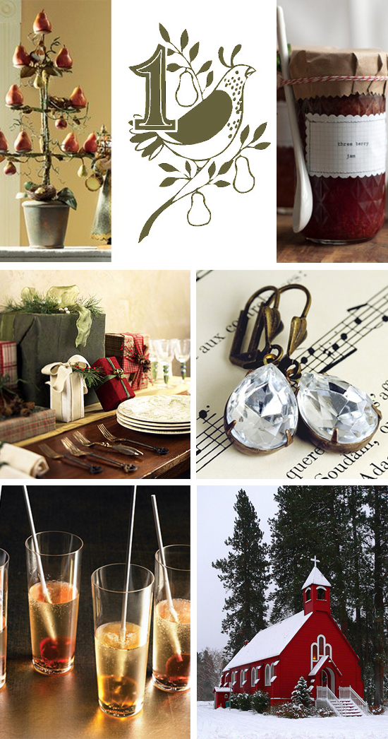 12 Days of Wedding Inspiration...A Partridge in a Pear Tree