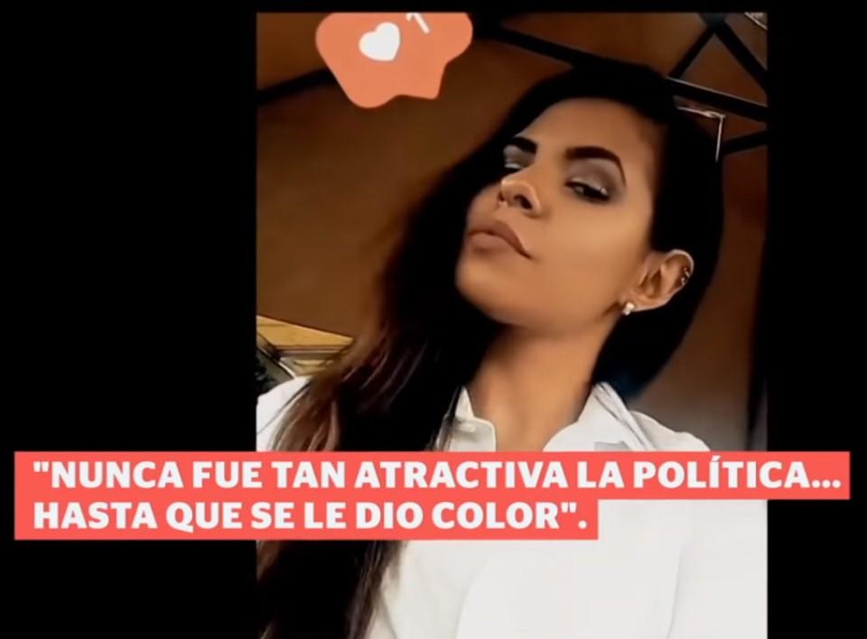 VIDEO: Candidata a diputada en Puebla hace campaña en Tinder