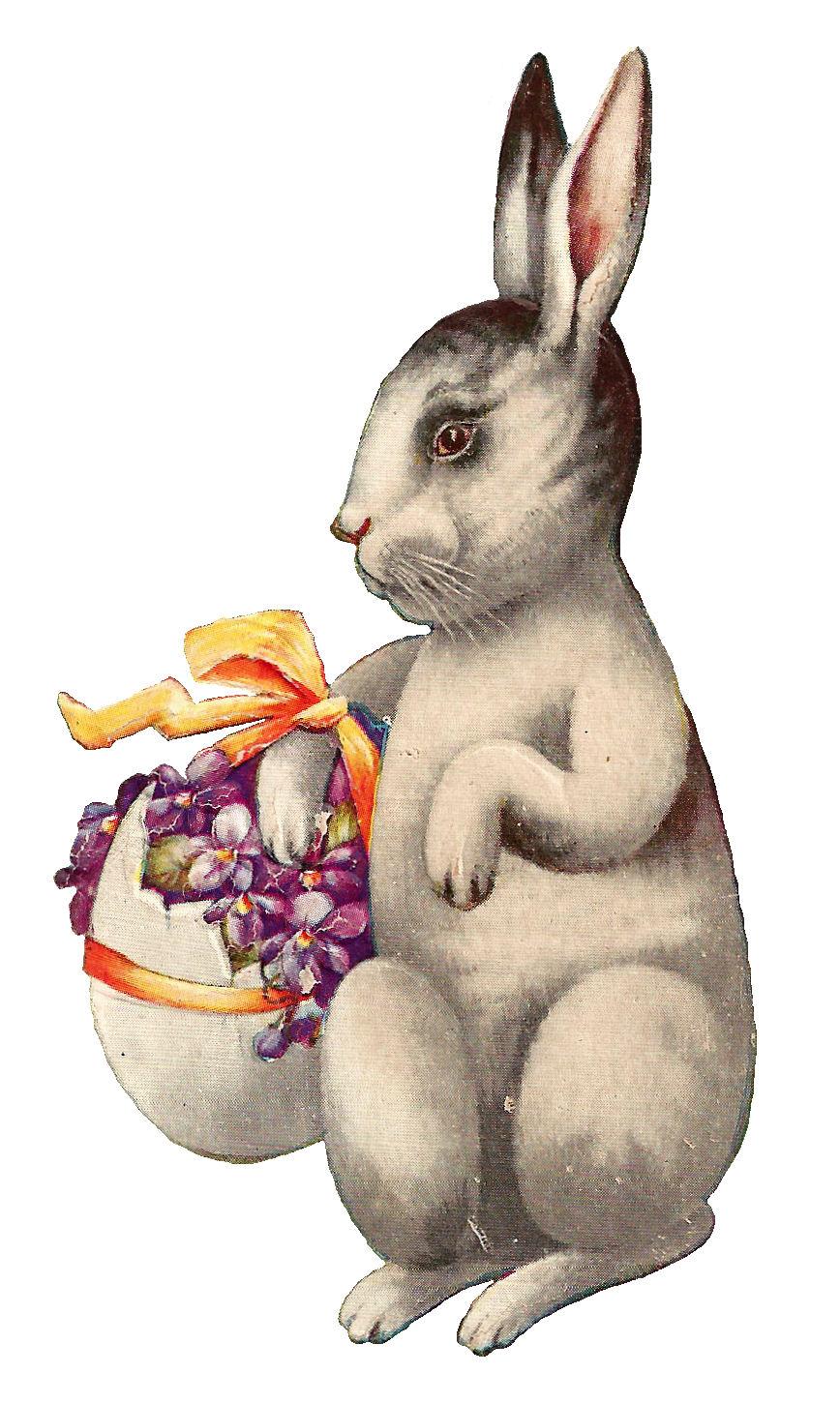 Vintage Easter Rabbit 43