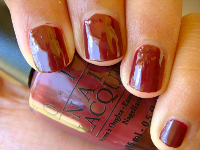 Burgundy Red Nail Polish Scchrine Vlentines Dy Opi Nails Art