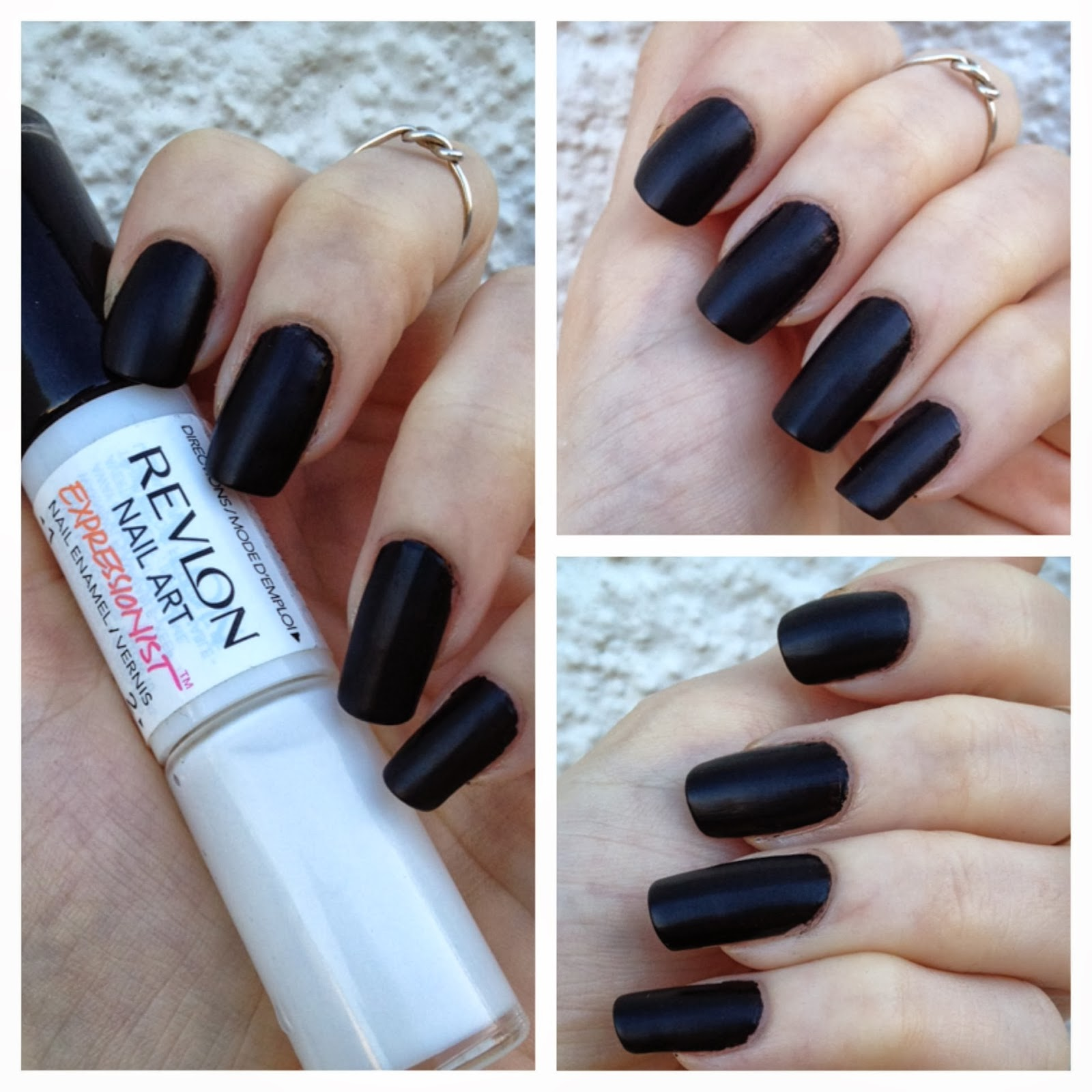 cat eyes & skinny jeans: halloween-perfect black polishes