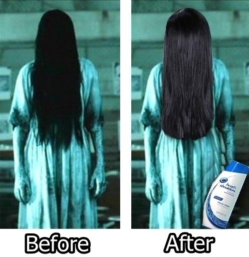Before And After - Shampoo - The RING!