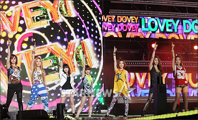 T-ara 2012 Dream Concert Fancams