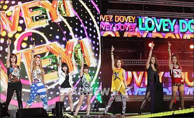 T-ara 2012 Dream Concert Fancams