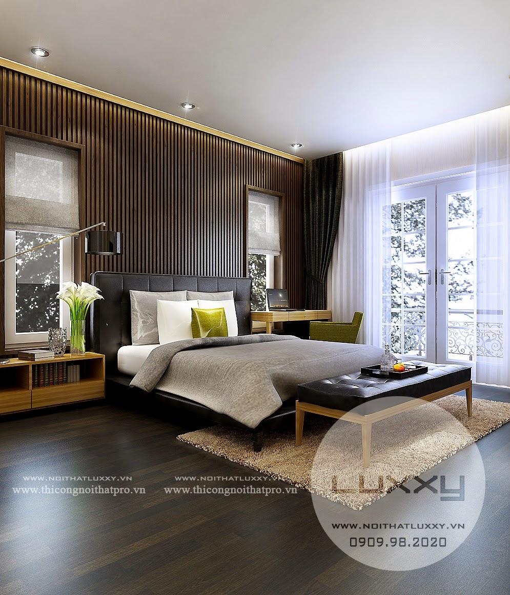 Thiết kế nội thất biệt thự đẹp song lập ở Vincom Village ở Sài Đồng