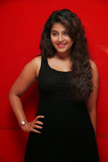 Actress Anjali Latest  Pictures in Short Dress at Kayal Movie Audio Launch  11.jpg