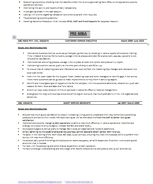 Resume Format For Job In India: Over 10000 CV And Resume Samples With Free Download: Relationship Manager Resume India