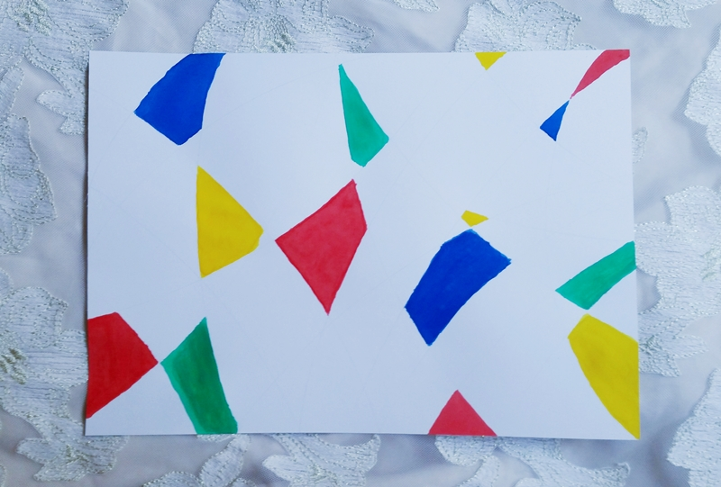 cubism art step 01