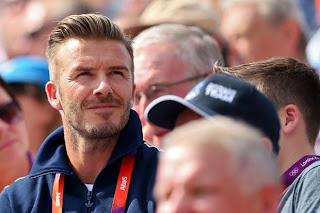 David Beckham's latest hairstyle