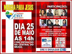 MARCHA PRA JESUS RIO 2013