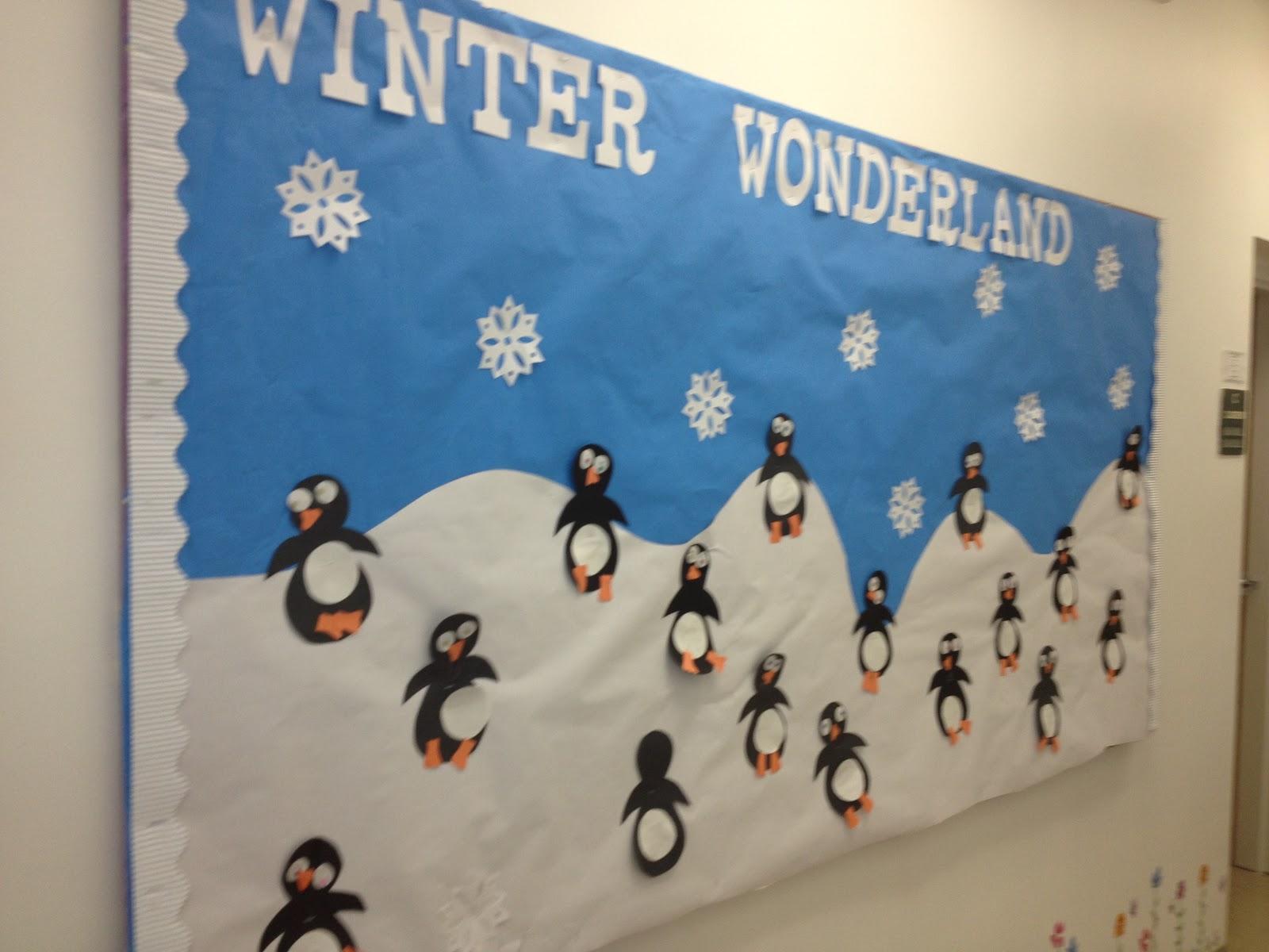 Hh Preschool Class Reflections January Bulletin Board