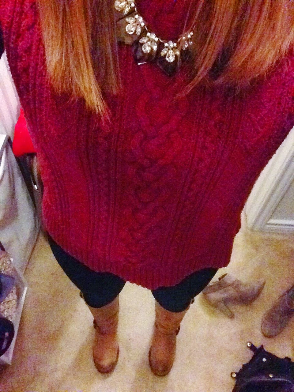 sweater, boots, jcrew, winter outfit