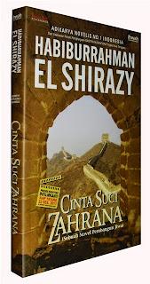 Jual Novel Cinta Suci Zahrana Surabaya