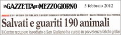 Rassegna stampa CRAS 5 febbraio 2012