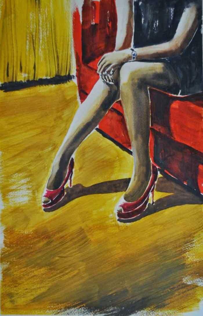 Акварельная живопись. Giorgio Gosti