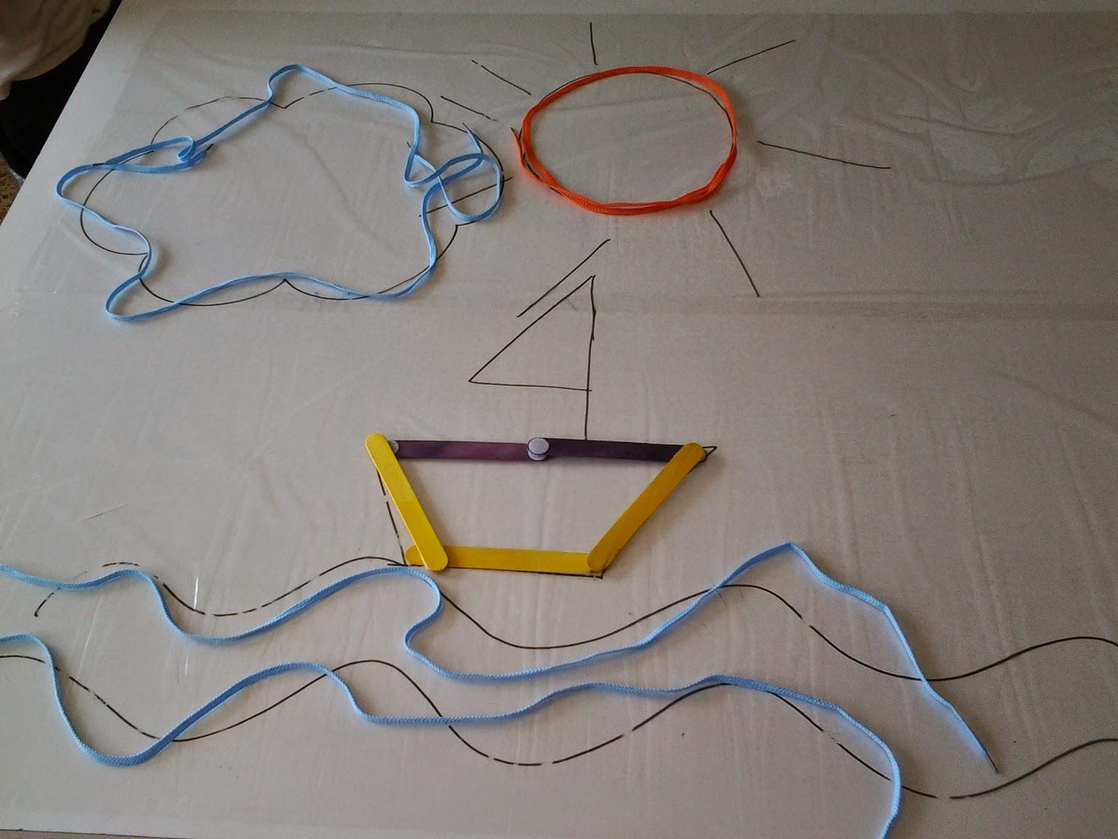 hago y comprendo: Líneas rectas y curvas, abiertas y cerradas....con ...