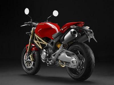 Motocicleta Ducati Monster Edição 20 º Aniversário