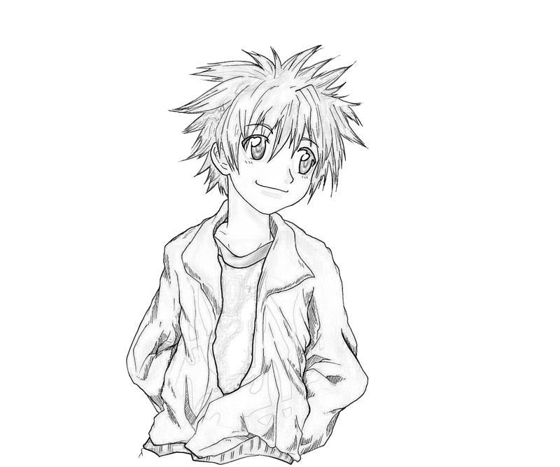 daisuke-niwa-character-coloring-pages