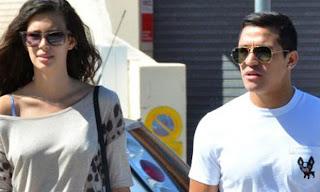 Alexis Sanchez Girlfriend