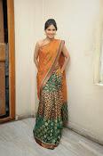 Madhumitha sizzling pics in saree-thumbnail-1