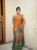 Madhumitha photos shoot in saree-cover-photo
