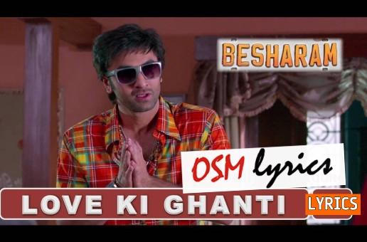 Besharam lyrics