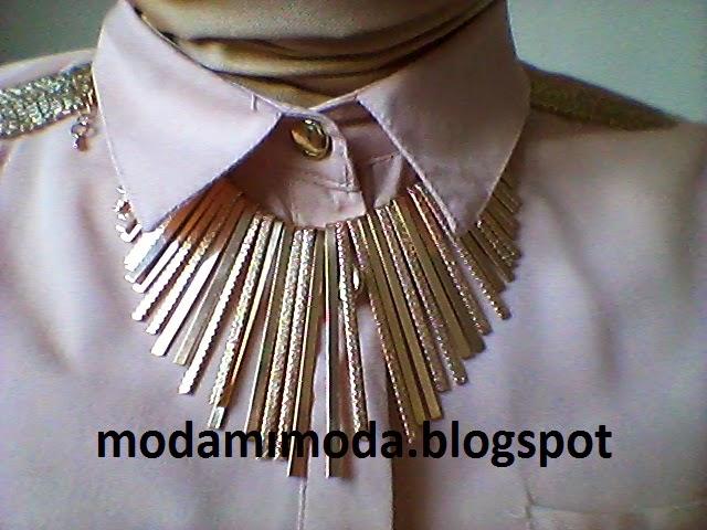 gold kolye