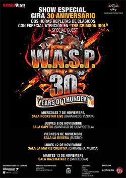 Queda poco para la gira por España de WASP