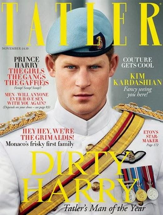 principe Harry è uomo dell'anno per Tatler