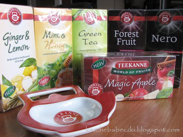 Teekanne pyszne herbatki :)