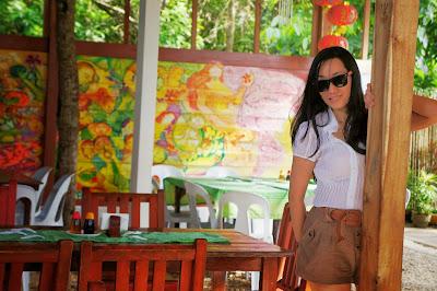 Trisha Sebastian in Ka Inato Puerto Princesa Palawan