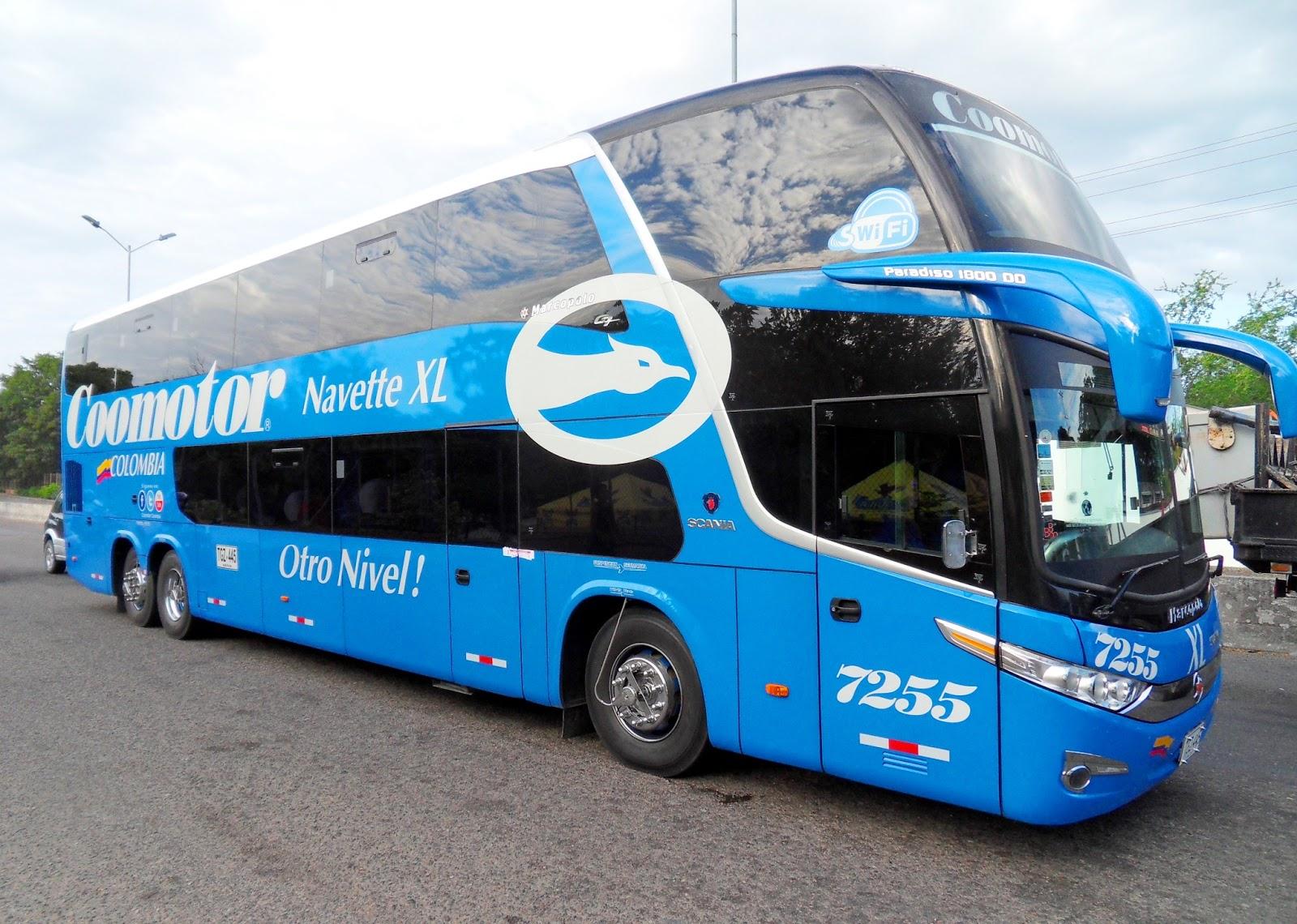Gu a tur stica del huila buses de dos pisos coomotor a la vanguardia en el turismo - Autobuses de dos pisos ...