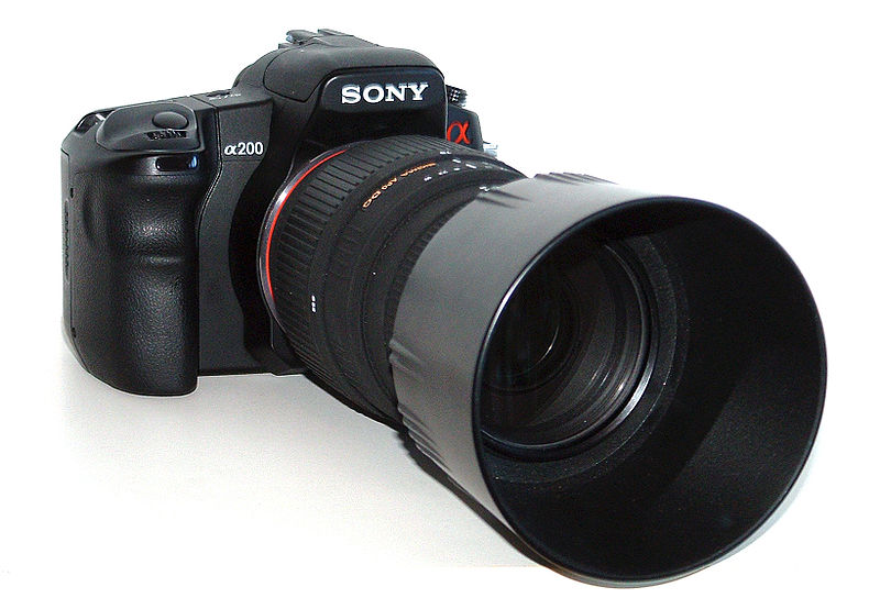 Sony Alpha DSLR-A200 Review: Digital Photography Review