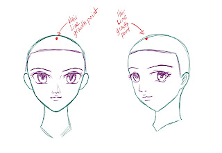 How To Draw Anime Hair Step 2