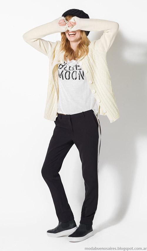 Ropa de mujer de moda otoño invierno 2015 Yagmour.