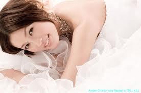 Gambar Amber Chia Seksi Hot Semasa Wedding