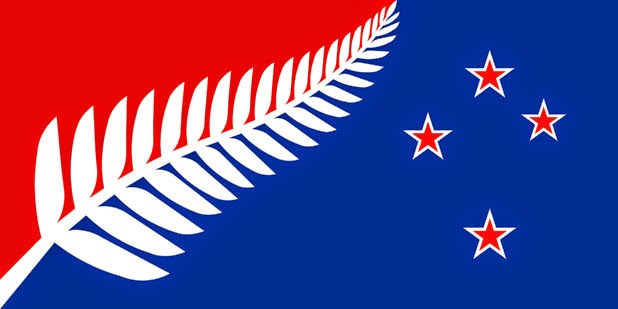 My preferred new NZ flag