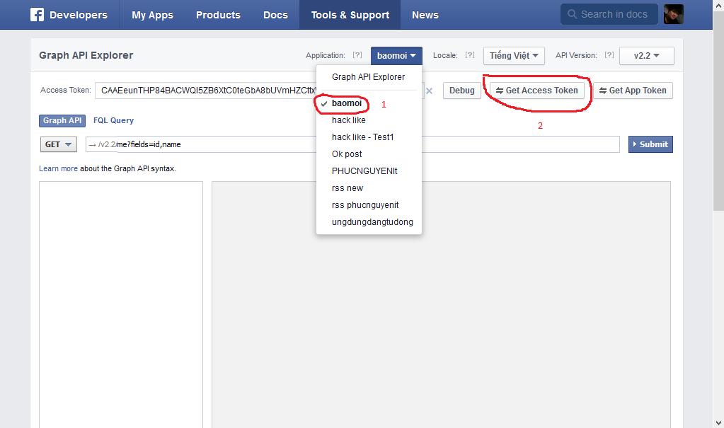 đăng bài tự động lên facebook qua developer facebook
