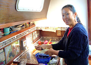 Li Ling in the Galley