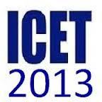 ICET Notification 2013