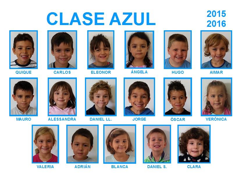 LEONES Y LEONAS DE LA CLASE AZUL