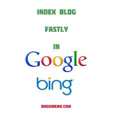Cara mempercepat index blog di google - yahoo - bing