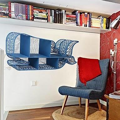 Mueble Estantería Ballena