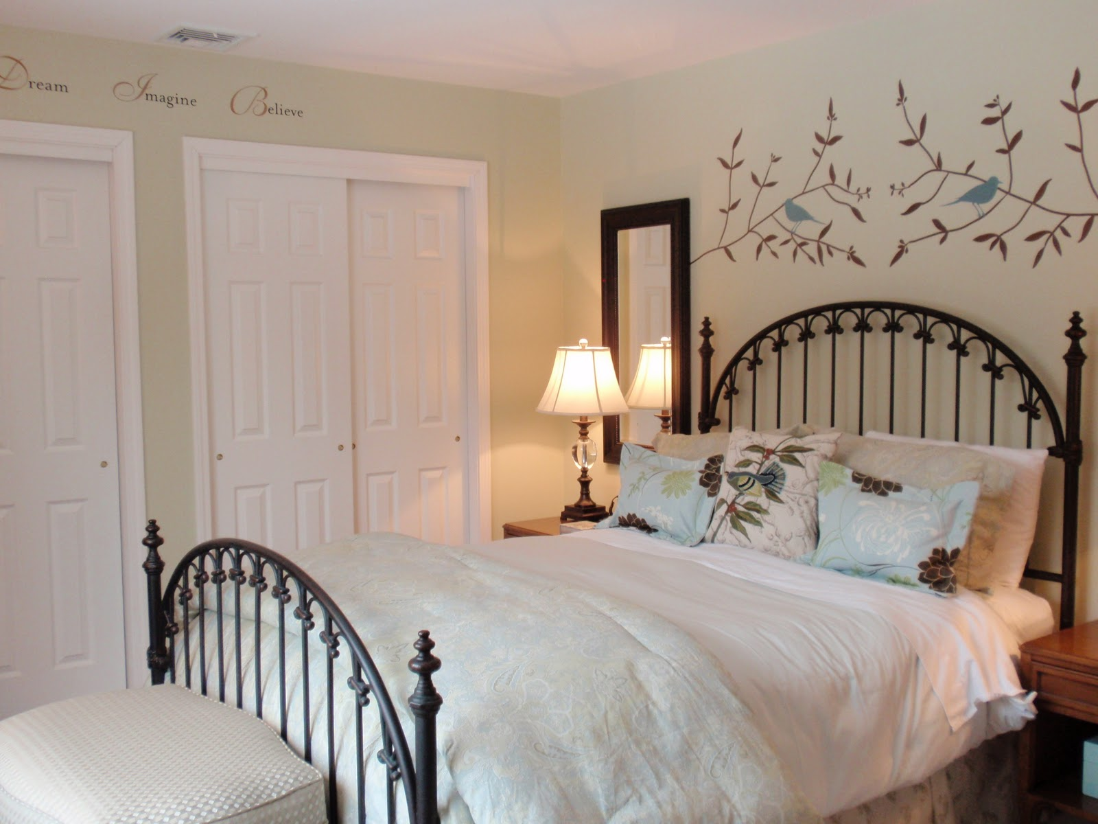 DIY by Design Roomspiration Linky Party Guest Bedroom