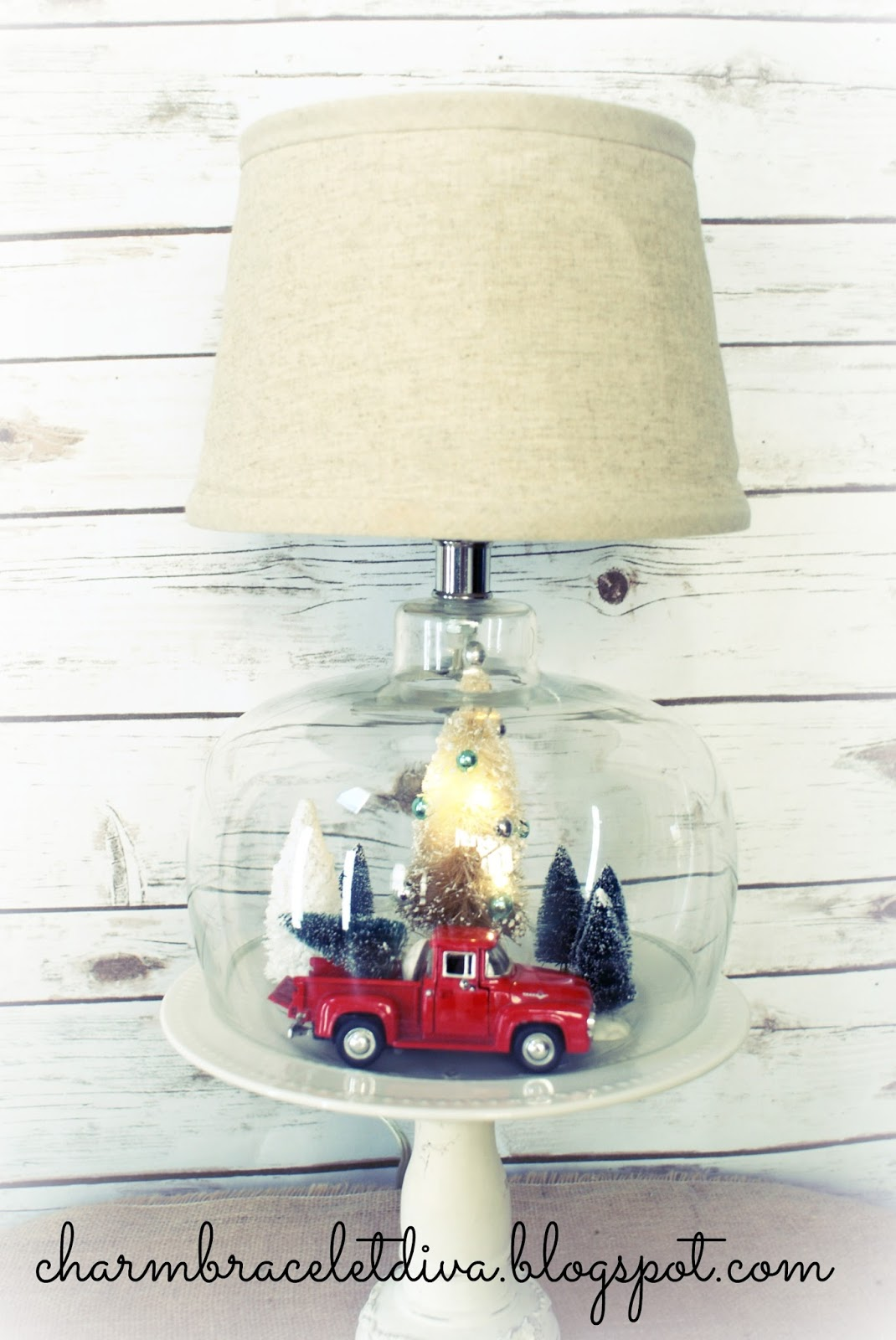 Our Hopeful Home: Thrift Store Lamp Transformed into Vintage ...